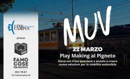 Progetto MUV: Play Making al Pigneto per la mobilità sostenibile
