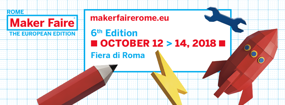 Link Campus University è il Social Media partner di Maker Faire Rome – The European Edition 4.0