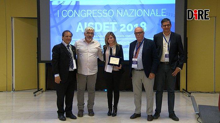 """Lia Alimenti, ricercatrice del Dasic, vince il premio Aisdet nella categoria """"Miglior Tesi di laurea"""""""